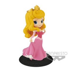 Disney Q Posket Minifigur Princess Aurora A (Pink Dress) 14 cm