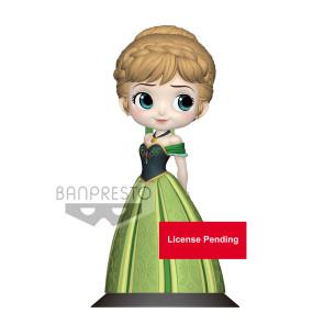 Disney Q Posket Minifigur Anna Coronation Style B Pastel Color Version 14 cm