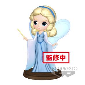Disney Q Posket Petit Minifigur Blue Fairy 7 cm