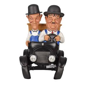 Dick und Doof Stan Laurel und Oliver Hardy Spardose 20 cm