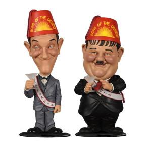 Dick und Doof Stan Laurel und Oliver Hardy Wackelkopf-Figuren Doppelpack Sons of the Desert 8 cm