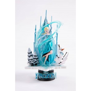 Die Eiskönigin Elsa D-Select PVC Diorama 18 cm Exclusive