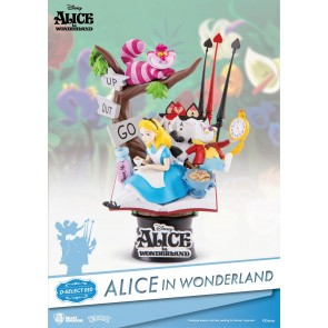 Alice im Wunderland D-Select PVC Diorama 15 cm