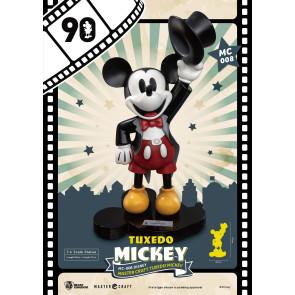 Micky Maus Tuxedo Mickey Master Craft 1/4 Statue 90th Anniversary 47 cm