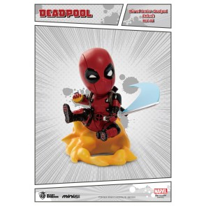 Marvel Comics Mini Egg Attack Figur Deadpool Ambush 9 cm