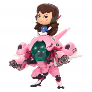 Overwatch D.Va & Meka Cute but Deadly Vinyl Figur 13 cm
