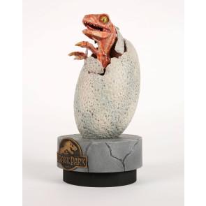 Jurassic Park Raptor Baby Hatchling Statue 28 cm