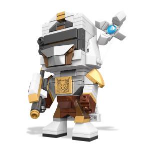 Destiny Mega Bloks Kubros Figur / Bauset Hunter 14 cm