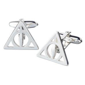 Harry Potter Manschettenknöpfe Heiligtümer des Todes (versilbert)