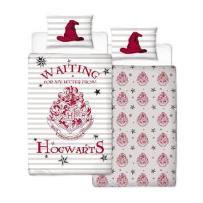 Harry Potter Wende-Bettwäsche Letters 135 x 200 cm / 48 x 74 cm