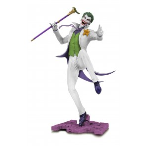 DC Core The Joker White Statue 28 cm Variant Exclusive