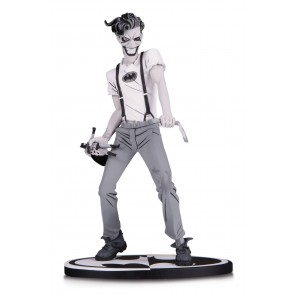 Batman The White Knight Joker Black & White Statue by Sean Murphy 18 cm