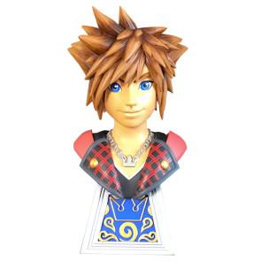 Kingdom Hearts Sora 1/2 Büste Legends in 3D 25 cm