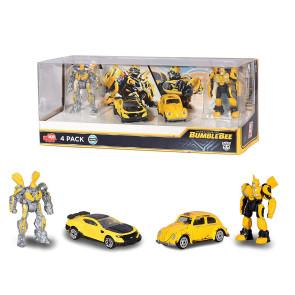 Transformers Bumblebee 1/64 Diecast Modelle 4-er Pack 6 cm
