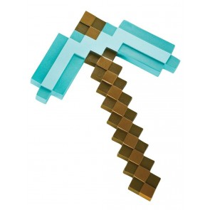 Minecraft Diamant Spitzhacke Kunststoff Replik 40 cm