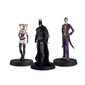 Batman Askham Asylum Hero Collection 3er-Pack Statuen 13 cm