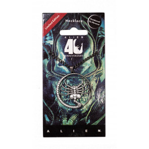 Alien 40th Anniversary Facehugger Halskette