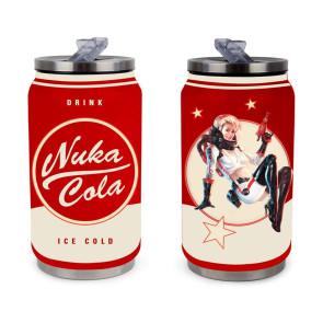 Fallout Trinkdose aus Metall Nuka Cola Red
