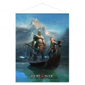 God of War Wandrolle Father and Son 100 x 77 cm