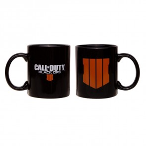 Call of Duty Black Ops 4 Tasse Logo Black
