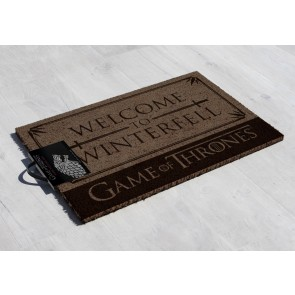 Game of Thrones Fußmatte Welcome to Winterfell 40 x 57 cm