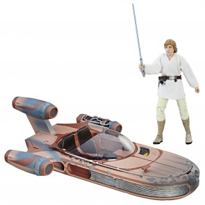 Star Wars Black Series 6-inch Fahrzeug 2017 Luke Skywalker's X-34 Landspeeder