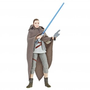 Star Wars VIII Rey Island Journey Black Series Vintage Actionfigur 10 cm Exclusive