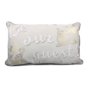 Die Schöne und das Biest Kissen Be Our Guest 50 cm