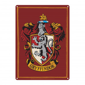 Harry Potter Blechschild Gryffindor 21 x 15 cm