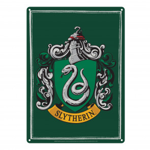 Harry Potter Blechschild Slytherin 21 x 15 cm