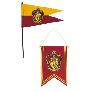 Harry Potter Wandbehang & Fähnchen Set Gryffindor