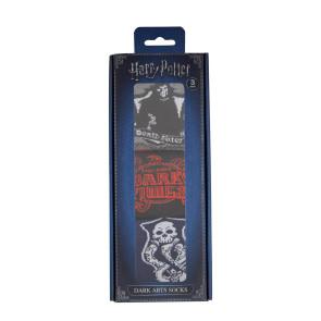 Harry Potter Socken 3er-Pack Dark Arts