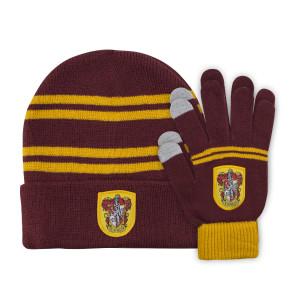 Harry Potter Kids Beanie & Handschuhe Set Gryffindor