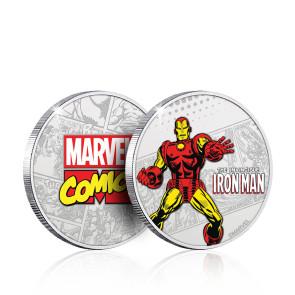 Marvel Sammelmünze Iron Man (versilbert)