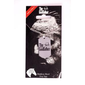 Der Pate Erkennungsmarke mit Kette Logo