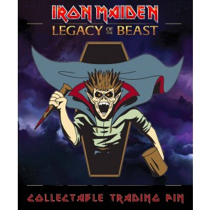 Iron Maiden Legacy of the Beast Ansteck-Button Vampire Hunter Eddie