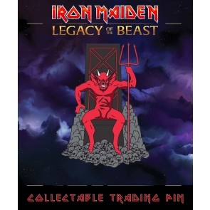 Iron Maiden Legacy of the Beast Ansteck-Button The Beast