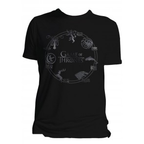 Game of Thrones T-Shirt Houses