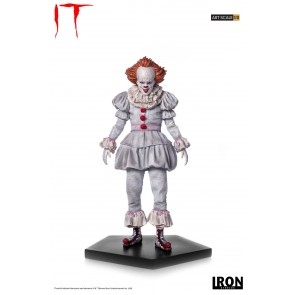 Stephen Kings Es 2017 Art Scale Statue 1/10 Pennywise 22 cm