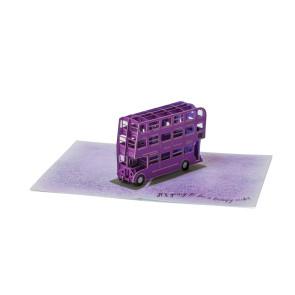 Harry Potter 3D Pop-Up Grußkarte Knight Bus