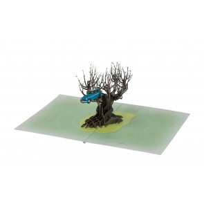 Harry Potter 3D Pop-Up Grußkarte Whomping Willow