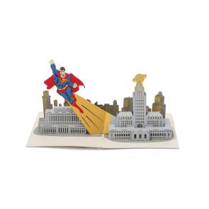DC Comics 3D Pop-Up Grußkarte Superman
