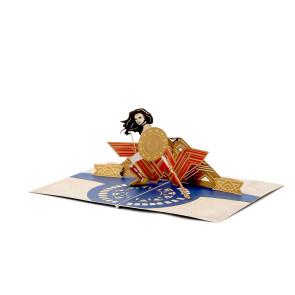 DC Comics 3D Pop-Up Grußkarte Wonder Woman