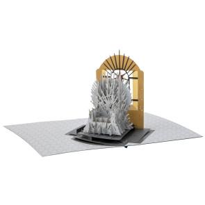 Game of Thrones 3D Pop-Up Grußkarte Iron Throne