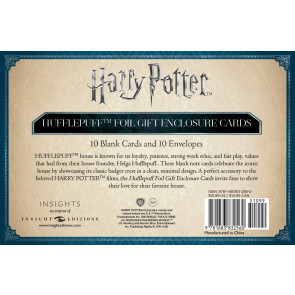 Harry Potter Grußkarten 10er-Pack Hufflepuff 89 x 56 mm