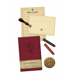 Game of Thrones Deluxe Schreibwaren-Set House Lannister