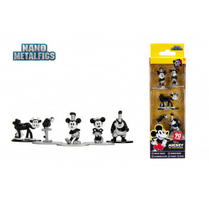Disney Nano Metalfigs Diecast Minifiguren 5-er Pack Mickey's 90th 4 cm
