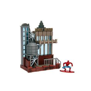Spider-Man Daily Bugle Nano Metalfigs Nano Scene Diorama