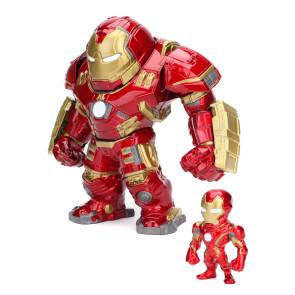 Avengers Hulkbuster & Iron Man Die Cast Figuren 15 cm