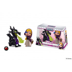 Disney Metalfigs Diecast Minifiguren Doppelpack Maleficent & Briar Rose 10 cm